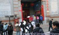 Another Citizen Disseminates Fliers on Beijing's Busiest Streets