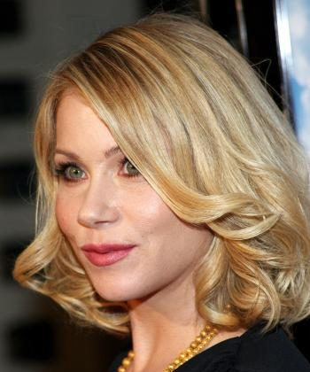"""Christina Applegate said she was free of cancer in an interview with ABC News' """"Good Morning America.""""  (Frederick M. Brown/Getty Images)"""