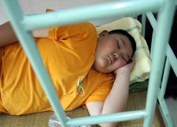 Research shows that obesity has increased among Chinese youth (China Photos/Getty Images)