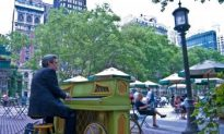 Composer and Pianist Brings Fresh Sounds to Bryant Park