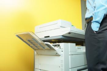 Trade secrets, personal data, and industry customer data are at risk the minute a firm sells or disposes of its digital printers and copiers. (photos.com)