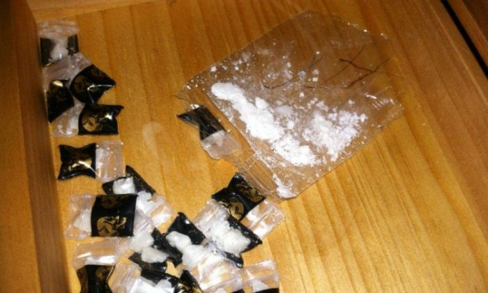Some of the crack cocaine seized on May 17 by law enforcement officials. (Courtesy of NYPD)