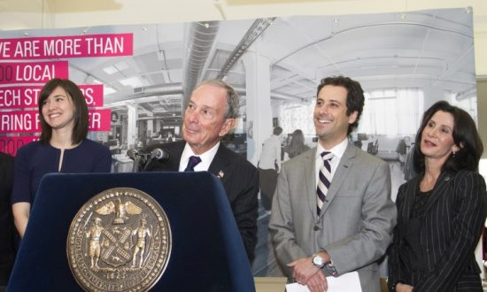 Bloomberg Boosts Tech Industry With 'We Are Made in NY' Campaign