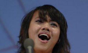 Vocal Finalist Sheds Heartfelt Tears on Stage