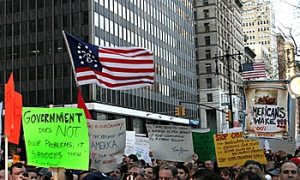 Government Spending Protested Across Nation