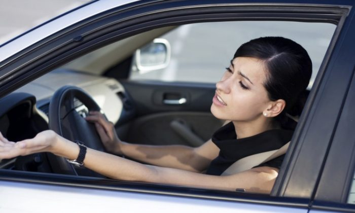 Drivers are most annoyed by cutting in and weaving, speeding, and hostile displays, according to a new Centre for Addiction and Mental Health study. (Polina Nefidova/Photos.com)
