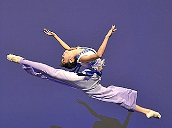 Wang Chen, first-prize winner of the Third International Classical Chinese Dance for the Women's Junior Division (Edward Dai/The Epoch Times)