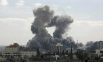 Israeli Air Force Bombs Terrorist Targets in Gaza