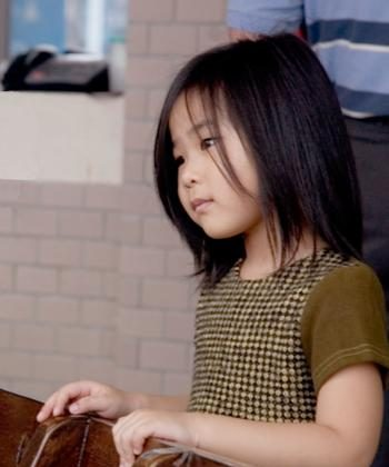 Even small children can be burdened by large problems. (Courtesy of Renjiun Wang)