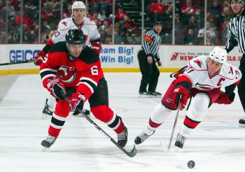 READY TO RUMBLE: The Devils will be looking to finally get past the Carolina Hurricanes in the postseason. (Jim MacIsaac/Getty Images)