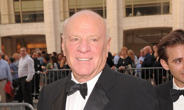Billionaire Internet and media mogul, Barry Diller, attends an event in New York City, September 2011. Diller's Aereo Inc., a Web-based television streaming service, is set to launch in the New York market on March 14 amid controversy over distribution of copyrighted content. (Jamie McCarthy/Getty Images)
