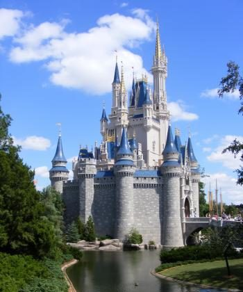 The iconic Cinderella Castle at the Magic Kingdom in Disney World Orlando, Florida.  (Photo courtesy of David Chasteen)