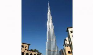 Burj Khalifa Luxury Apartments, the World's Tallest Tower, in Dubai