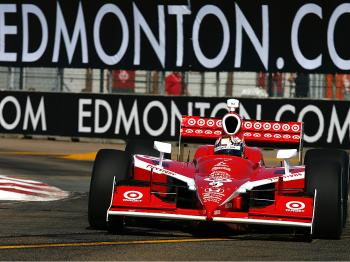 Scott Dixon took the win at the Rexall Edmonton Indy race. (Gavin Lawrence/Getty Images)