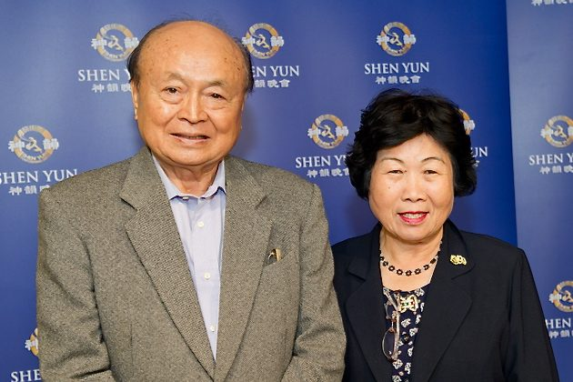 National Policy Adviser to the President and Taiwan Indigenous Survival and Development Association President, Mr. Hua Chia-Chu, attends the Shen Yun performance on March 14. (The Epoch Times)
