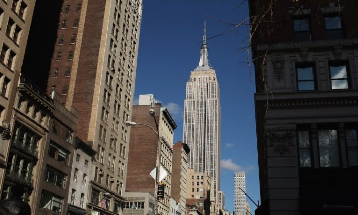 Empire State Realty Trust Inc., which owns the Empire State Building, filed for an IPO on Monday. (Spencer Platt/Getty Images)