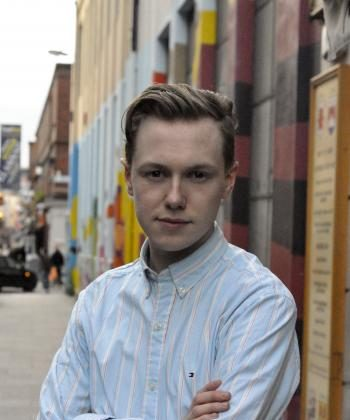 Independent candidate for Dublin South East, Dylan Heskin (Martin Murphy/The Epoch Times)
