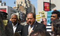 Drivers, Officials Rally for Taxi Driver Protection Act