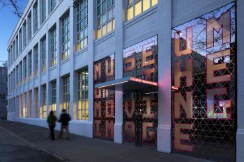 NEW FACE: The Museum of the Moving Image got a $54.7 million makeover. (COURTESY OF THE MUSEUM OF MOVING IMAGES) (Courtesy of The Museum of Moving Images )