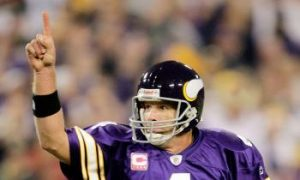 Favre Fantastic Against Old Team Packers