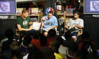Nets Rookies' Children's Event a Slam Dunk