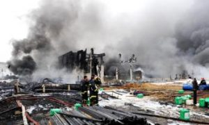 Huge Pipeline Explosion in Northeastern China Causes Oil Spill