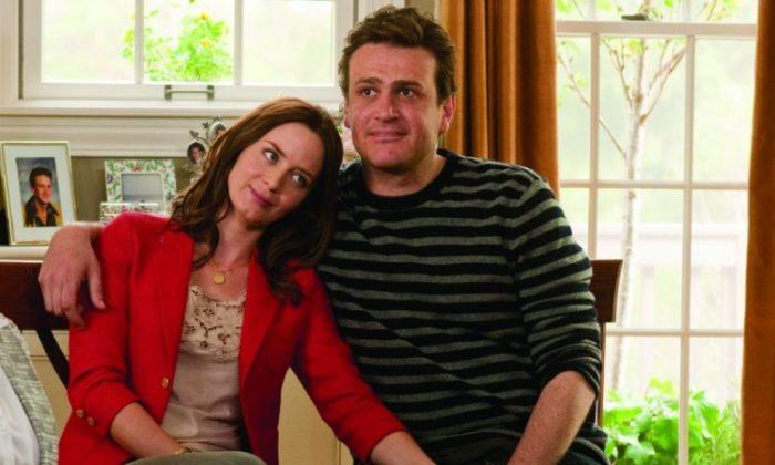 Emily Blunt and Jason Segel in 'The Five-Year Engagement.' (Glen Wilson/Universal Studios)