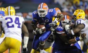 Florida and LSU Battle in Baton Rouge
