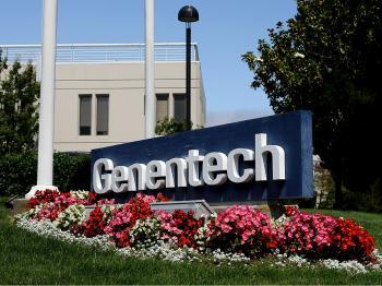 Swiss pharmaceutical giant Roche Holding Ltd. purchased Genentech Inc. for $47 billion. (Justin Sullivan/Getty Images)