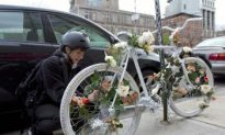 Advocacy Group Honors Cyclists and Pedestrians Killed in Traffic