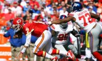 Giants Defense Smothers Chiefs in K.C.
