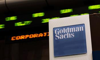 The world's biggest investment bank Goldman Sachs Group Inc. reported this week that its fourth-quarter earnings tumbled by 53 percent. (Chris Hondros/Getty Images)