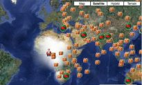 NORAD Santa Tracker: Santa Makes His Way West