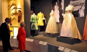 Royal Gowns in Summer Exhibition at Buckingham Palace