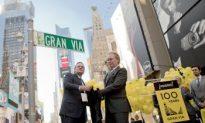Broadway Designated 'Gran Via' for a Day