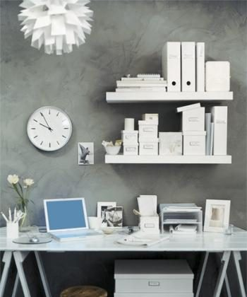 Getting yourself organised in style can improve your quality of life as well as the look of your office. (www.kikki-k.com.au)