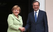 Merkel Delivers Positive Message to Greece Amid Mass Protests