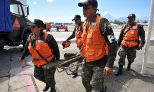 Earthquake Startles People Of Guatemala