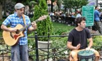 Ramzi Brings Acoustic Folk to Union Square Park