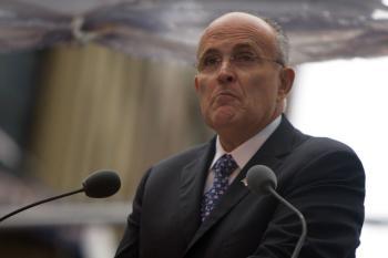 Former New York City Mayor Rudolph Giuliani. (Robert Sciarrino-Pool/Getty Images)