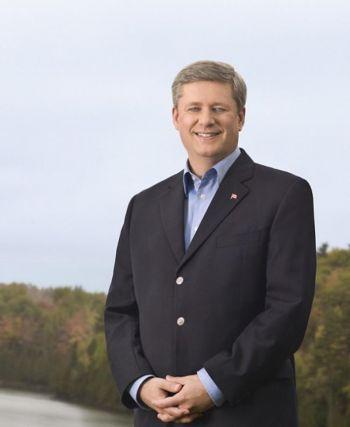 Stephen Harper, prime minister of Canada