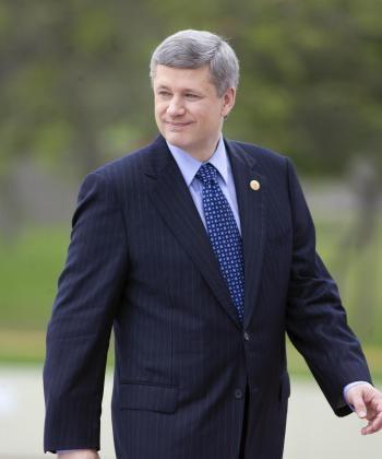 Canadian Prime Minister Stephen Harper. (SAEED KHAN/AFP/Getty Images)