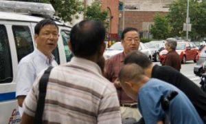 CCP Propaganda Distributors Turn Violent in Queens