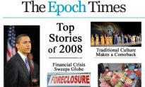 The Epoch Times Top News Stories of 2008
