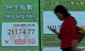 Olympics Fail to Hold Market Steady