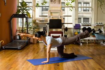 This exercise does wonders for the health of your back. (Henry Chan/The Epoch Times, Space Courtesy of Fitness Results)