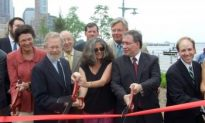New Section of Hudson River Park Open to Public