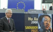 Message from Wife of Sakharov Prize Recipient Touches European Parliament