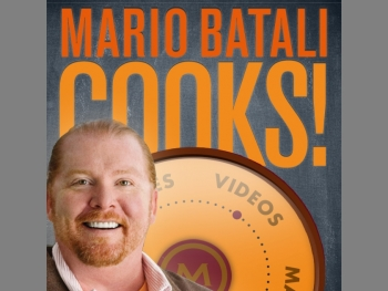 POCKET COOKBOOK: A screenshot of the Mario Batali Cooks! app on the iPhone. (Tan Truong/The Epoch Times)