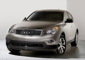 The Infiniti EX35  (Courtesy of Infiniti)